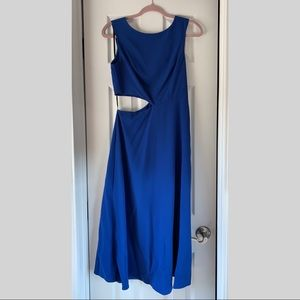 June & Hudson Asymmetrical Cut-out Dress